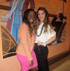 Mz Mahogany Chic staff Beatrice and Ana