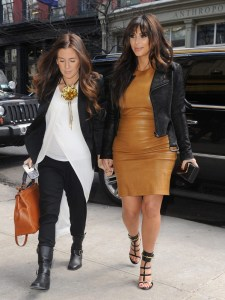 Kim mustard leather dress