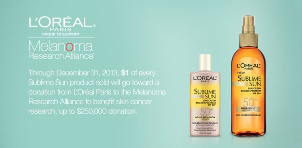 L'OREAL PARIS FIGHTS MELANOMA