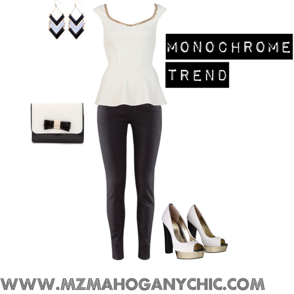Monochrome Look for Less