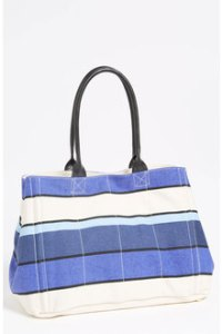 Tarnish Stripe Canvas Tote $78.00.