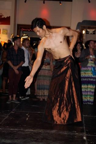 Performance by Junichi Fukuda