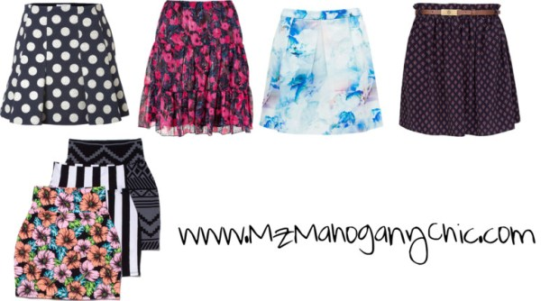 Flirty skirts back to school 2013