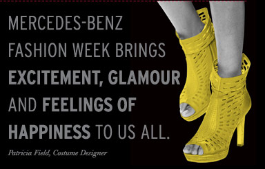 Mercedes-benz Fashion Week quote