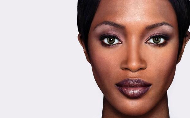 A close up of Naomi Campbell