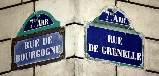Corner signs