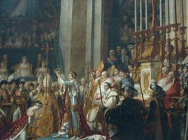 Coronation of Napoleon, by Jacques-Louis David