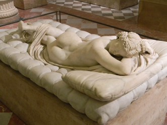 Hermaphroditos Asleep, artist unknown