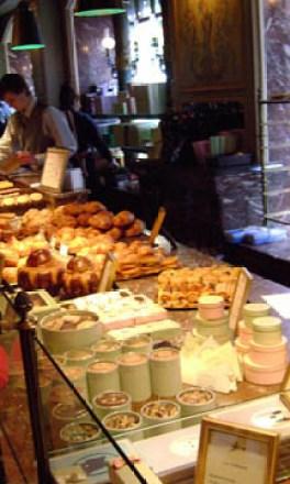 Pastries at Laduree