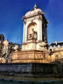 Saint Sulpice courtyard