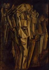 Nude Study (Sad Young Man on a Train)