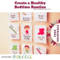Create a Healthy Bedtime Routine with Jack N' Jill Natural Toothpaste