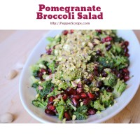 Pomegranate Broccoli Salad