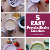 5 Easy Protein Shake Lunches