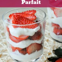 Easy Amaretto Strawberry Parfait
