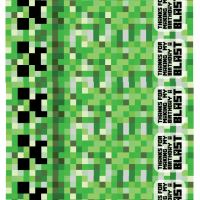 Free Printable Minecraft Birthday Bookmarks