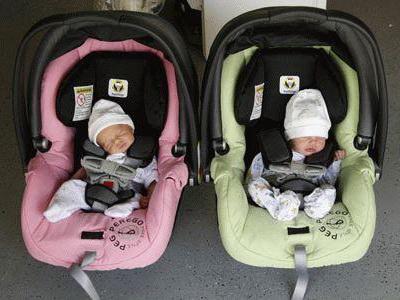 bebe u autosjedalici