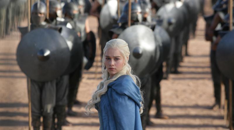 Emilia Clarke as Daenerys Targaryen [Keith Bernstein/HBO]
