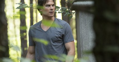 """The Vampire Diaries -- """"Never Let Me Go"""" -- Image Number: VD702a_0013.jpg -- Pictured: Ian Somerhalder as Damon -- Photo: Bob Mahoney/The CW -- © 2015 The CW Network, LLC. All rights reserved."""