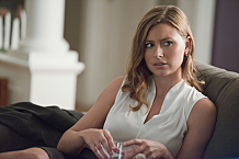 """iZombie -- """"Even Cowgirls Get the Black and Blues"""" -- Image Number: ZMB204b_0182.jpg -- Pictured: Aly Michalka as Peyton -- Photo: Diyah Pera/The CW -- © 2015 The CW Network, LLC. All rights reserved."""