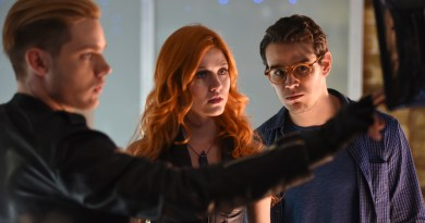 "SHADOWHUNTERS - ""The Descent Into Hell Isn't Easy"" - Clary's memories may be the key to finding her mother and The Mortal Cup in ""The Descent Into Hell Isn't Easy,"" an all-new episode of ""Shadowhunters,"" airing  TUESDAY, JANUARY 19 (9:00 - 10:00 p.m. EST) on Freeform, the new name for ABC Family. ABC Family is becoming Freeform on January 12, 2016. (Freeform/John Medland) DOMINIC SHERWOOD, KATHERINE MCNAMARA, ALBERTO ROWENDE"