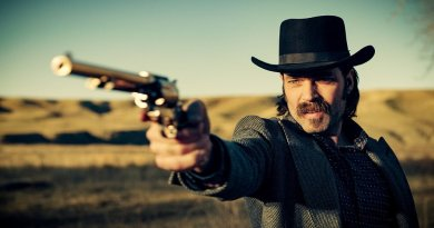 "WYNONNA EARP -- ""The Blade"" Episode 104 -- Pictured: Tim Rozon as Doc Holliday -- (Photo by: Syfy/Wynonna Earp Productions)"
