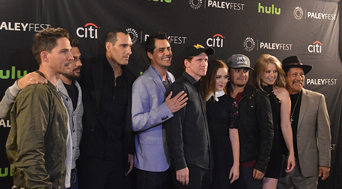 Cast of FROM DUSK TILL DAWN THE SERIES at 2016 PaleyFest.