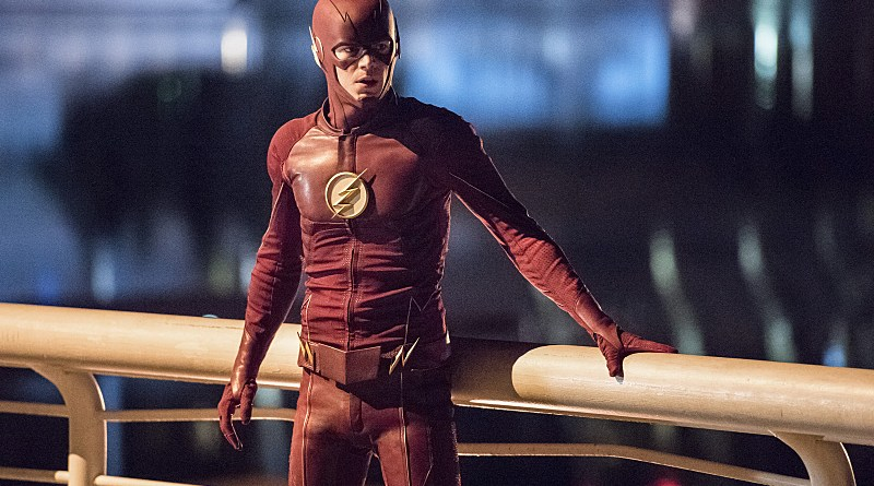 """The Flash -- """"Paradox"""" -- Image: FLA302a_0425b.jpg -- Pictured: Grant Gustin as The Flash -- Photo: Dean Buscher/The CW -- © 2016 The CW Network, LLC. All rights reserved."""