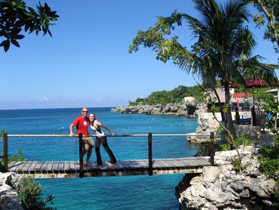 Rockhouse Jamaica Jump off the bridge