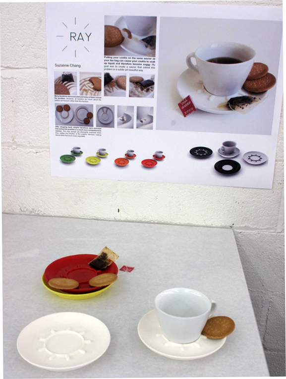 design-schools--Ray tea cup and saucer