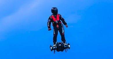 Flyboard Air Hoverboard Sets World Record [Video]