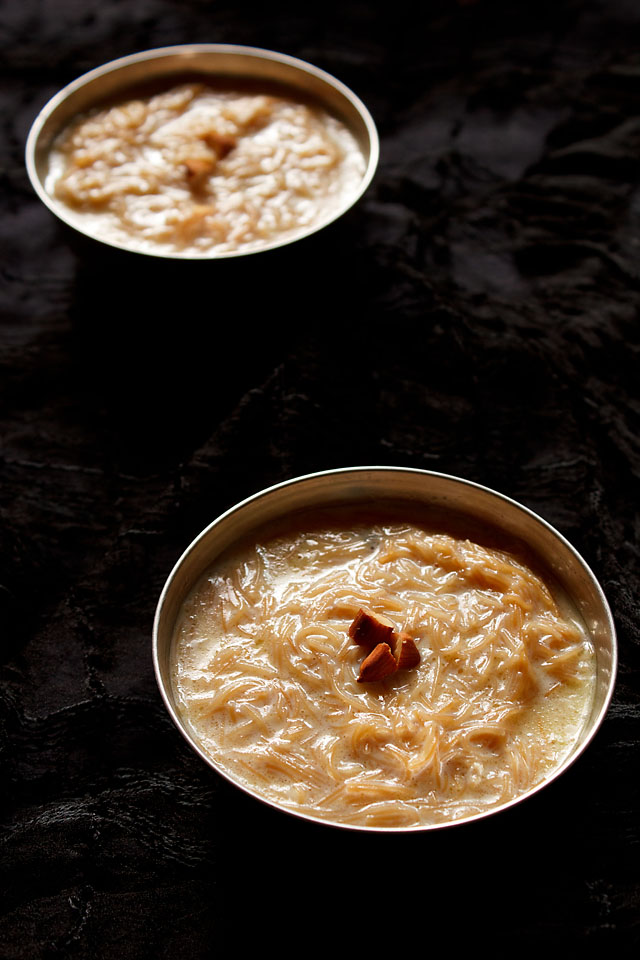 Sevaya Kheer By Sagarselect (Own work) [CC BY-SA 4.0 (http://creativecommons.org/licenses/by-sa/4.0)], via Wikimedia Commons