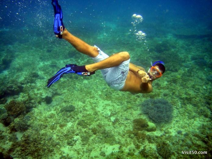 Philippines Snorkeling near Malapascua