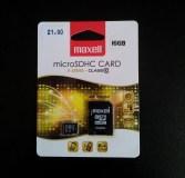 MAXELL 16GB micro SDHC