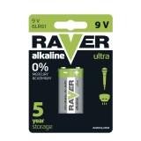 Батерия Raver Alkaline 9V