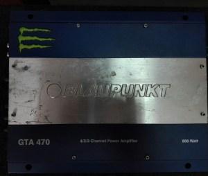 Автомобилен усилвател Blaupunkt GTA 470