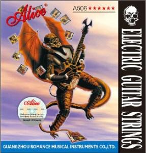 Струни за електрическа китара Alice A506