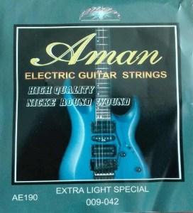 Струни за електрическа китара Aman AE190