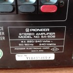 Усилвател Pioneer SA-506