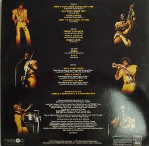 Грамофонна плоча Commodores - Live!