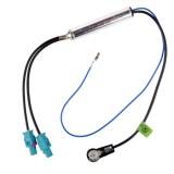 Преходен кабел за авто антена Fakra – Din