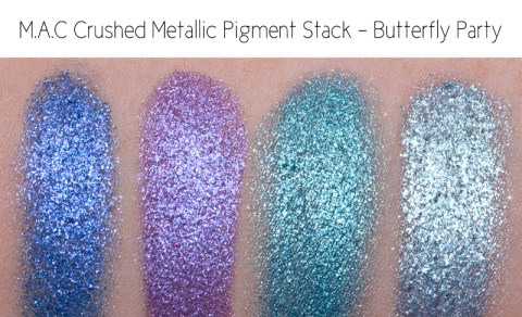 swatches review M.A.C Pigments M.A.C Pigment Stacks M.A.C & Vera Neumann M.A.C