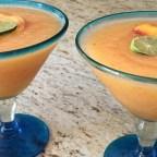 Dane's Frozen Peach Margaritas