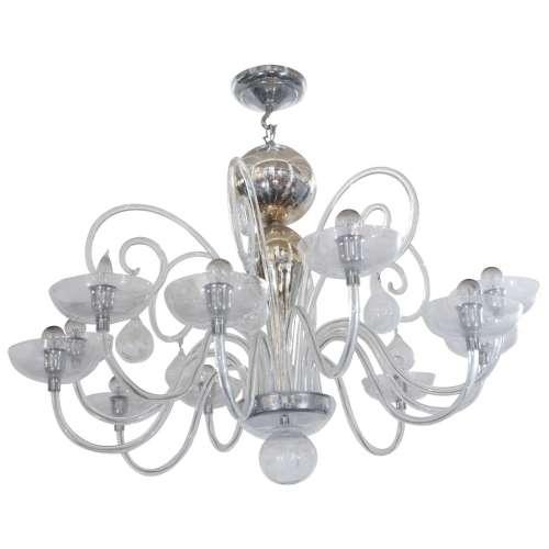 Medium Crop Of Blown Glass Chandelier