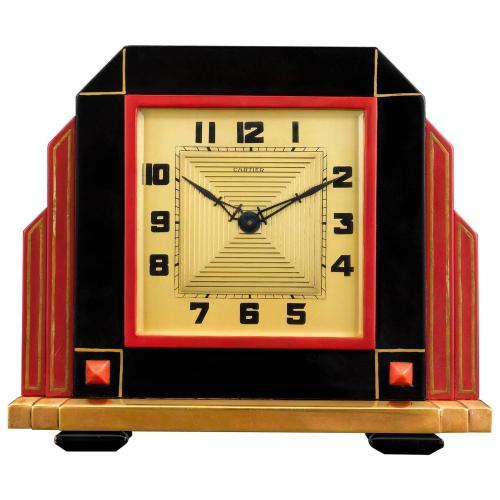 Medium Of Art Deco Clock