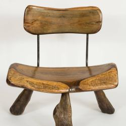 Wood and Iron Chairs for Sale at 1stdibs