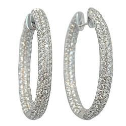 Enchanting Jona Pave Diamond G Hoop Earrings Sale At Diamond Hoop Earrings India Diamond Hoop Earrings Nordstrom