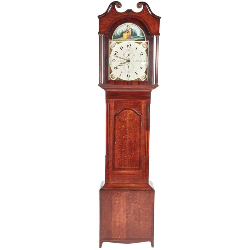 Large Of Grandfather Clock Wall Stickers