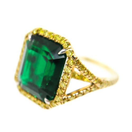 Medium Crop Of Yellow Diamond Rings