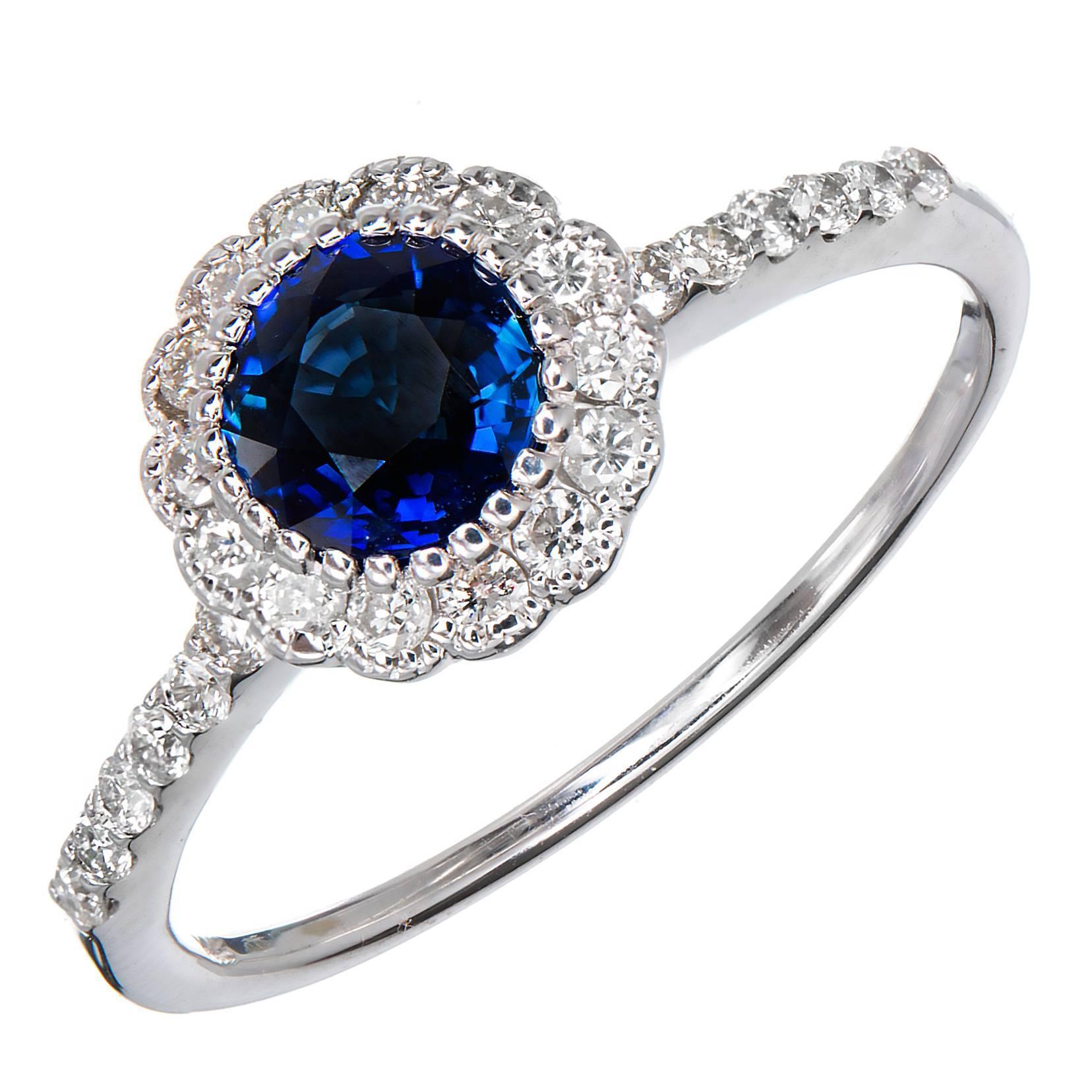 Fullsize Of Blue Engagement Rings